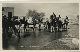 Perse Teheran Caravane Ecrite Teheran 1936 Non Timbrée - Iran