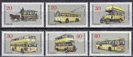 Germany / Berlin - Mi-Nr 446/451 Postfrisch / MNH ** (B1492) - Bussen