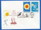 Rumänien; Space Cover; Raumfahrt; 120 Jahre Coculescu; Nr 191 - Briefe U. Dokumente