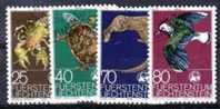 Liechtenstein Nr. 644-47   O  (s7419) Gut & Billig !! - Liechtenstein