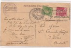 Tampon Du Congrés De Versaille 1947  -  Parlement - Assemblée Nationale - Décrets & Lois