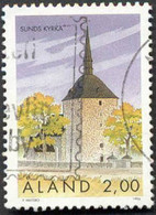 Pays : 187,2 (Finlande : Åland)  Yvert Et Tellier N° :  91 (o) - Aland