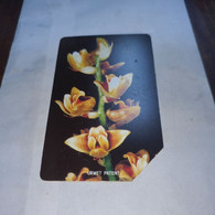 Sierra Leone-10,25,50,100-(4 Cards)-FLOWERS-used Cards+3 Prepiad Free - Sierra Leone