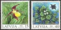 Latvia-Protected Plants Of Latvia -MINT-2002 - Lettonie