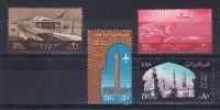 Egypte - UAR, 1963, YT-Nr. 88, 89, 91 + 92a, Neuf **, Lot 41915 - Aéreo