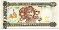 "5 Nakfa ""ERYTHREE""   24 Mai  1997 UNC  Ble6 - Erythrée"