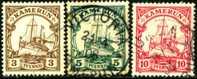 Cameroun SC 7 - 9 Kaiser´s Yacht Issues Of 1900 - Colony: Cameroun