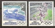 N°1811/1812** TTB - Monaco