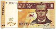 """**2004** 10 Kwacha """"MALAWI""""  1er Juin 2004  UNC  Bc106 - Malawi"""