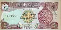 IRAQ/IRAK  1/2 DINAR 1993  KM#78  PLANCHA/UNC  DL-3378 - Iraq