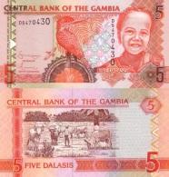 GAMBIA  5 DALASIS ND (2.006-2.014)  KM#25(1) PLANCHA/UNC   T-DL-3551 - Gambia
