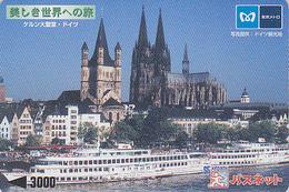 Carte Japon Religion Eglise - Cathédrale De COLOGNE / Allemagne - Kölner Dom Deutschland - Germany Related Card - Japan