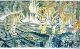 12 Telecartes EN PUZZLE DE TIGRE TIGER TIJGER 12 Phonecards (5) - Jungle