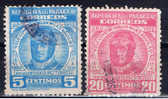 PY+ Paraguay 1954 Mi 692-93 Flieger Silvio Pettirossi - Paraguay