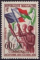 MADAGASCAR Poste 340 * MH Communauté Française - Madagascar (1960-...)