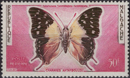 MADAGASCAR Poste Aérienne  80 * MH Papillon Butterly Schmetterling Vlier - Madagascar (1960-...)