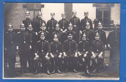 Militaria; Soldaten; Gruppenbild; Privat-Foto-AK; - Guerre 1914-18