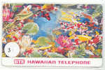 Télécarte HAWAI HAWAII (3) Inutilisé HAW-76 Koi Fish And Flowers - Hawaï