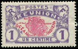 Pays : 401 (Réunion : Colonie Française)  Yvert Et Tellier N° :  56 (*) - Réunion (1852-1975)