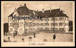 ALTE POSTKARTE ST. INGBERT LUDWIGSCHULE SAAR SAARGEBIET Schule School école Cpa Postcard AK Ansichtskarte - Saarpfalz-Kreis