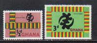 16A - GHANA 1961 , Legenda Locale Serie N. 88/89  *** - Ghana (1957-...)