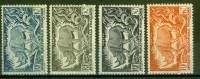 Rhinocéros - A.E.F. - Variété De Couleur Sur Le 30c - 1947 - A.E.F. (1936-1958)