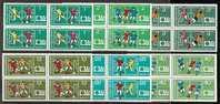 BULGARIE - 1974 - Coup Du Mond Du Football - Munchen´74 - Bl.de 4** - Coppa Del Mondo