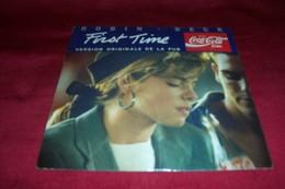 FIRST  TIME  °°  PAR  ROBIN  BECK   °°  PUB COCA COLA EN   VINYLE - Coca-Cola