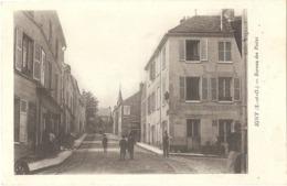 CPA 91 IGNY - BUREAU DES POSTES - (éditeur : Imp. E. Le Deley) - Igny