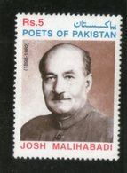 Pakistan 1999 Shabbir Hassan Khan Poet, Writer Sc 938 MNH # 0334