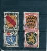 ZONE FRANCAISE :    N° 2+7+8+10   0bli.--1945 - Zone Française