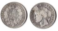 ** 2 FRANCS CERES 1870 Petit A Argent ETAT TTB *A136* - France