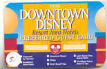 Disney HOTEL KEY CARD Walt Disney World Resort Orlando USA  (5) RARE - Disney