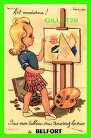 CARTE,  À SYSTÈMES - ART MODERNE ! - 10 PHOTOS DE BELFORT - ÉDITIONS ANDRÉ LECONTE - - Cartes Postales