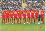 MESSINA  FOOTBALL CLUB  IN SERIE  A  = ANNULLO SPECIALE MESSINA 04.10.2004 CON FRANCOBOLLO ITALIA CAMPIONI DEL  MONDO - Calcio