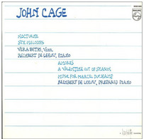 * LP * JOHN CAGE - NOCTURNE A.o. (Holland 1980 Ex!!! Very Rare!!!) - Verzameluitgaven