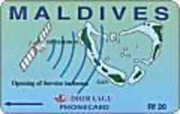 MALDIVES : MLD-007  Opening Service Of Seena MINT - Maldives