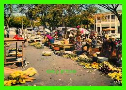 CÔTE D´IVOIRE - AU MARCHÉ  - ANIMÉE - CIRCULÉ - - Côte-d'Ivoire