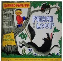 Gerard Philipe 33t. LP *pierre Et Le Loup* - Kinderlieder