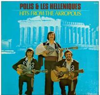 * LP * POLIS & LES HELLENIQUES - HITS FROM THE AKROPOLIS (Holland 1973 Ex-!!!) - Country En Folk