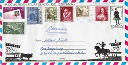 Spanien / Spain - Umschlag Echt Gelaufen / Cover Used (c510) - 1931-Heute: 2. Rep. - ... Juan Carlos I