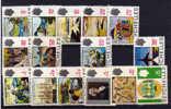 Seychelles1969 72, Tourisme Et Vues Diverses, N° 252 / 66**  Incomplet (parue En Tranches) - Seychelles (1976-...)