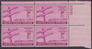!a! USA Sc# 0924 MNH PLATEBLOCK (UR/23151/a) - Telegraph - Unused Stamps