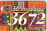 MEMOPHONE INDIEN 50U SC5 SANS TROU 05.93 BON ETAT - France