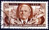 Mi.  443  5 Jahre DDR - [6] Democratic Republic