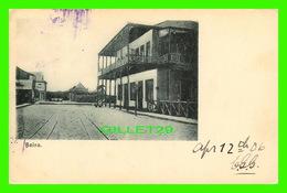 BEIRA, MOZAMBIQUE - HOTEL - CIRCULÉE EN 1906 - ENDOS NON DIVISÉ - - Mozambique