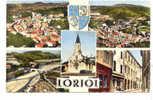 11164 Loriol Souvenir Multi Vues. J 37 Cellard - France