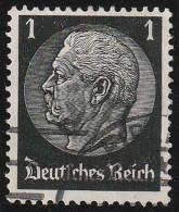 Alemania 1933 Scott 415 Sello º 85 Cumpleaños De Von Hindenburg 1 Deutsches Reich Allemagne Duitsland Germania Germany - Usados