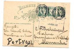 Por064/ Lusiaden GA-Markengleiche Nominale 1932, N. Mannheim-Waldhof
