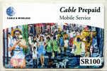 SEYCHELLES - Cable & Wireless - Mobile Service SR100 - Seychelles